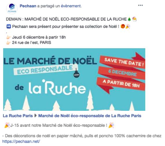 MARCHE DE LA RUCHE
